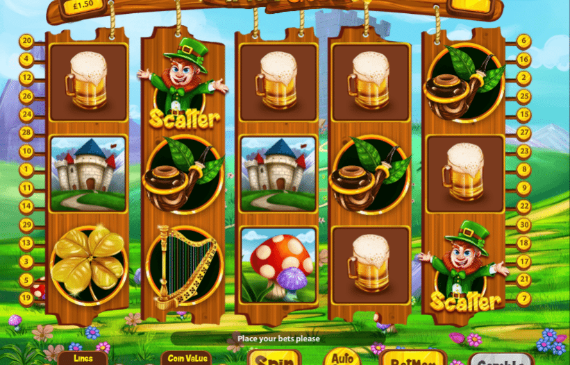 Игровой автомат Irish Gold — играй онлайн на реальные деньги