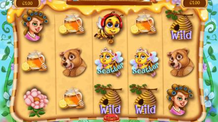 Игровой автомат Honey Bees — бесплатные онлайн классические слоты и видео автоматы