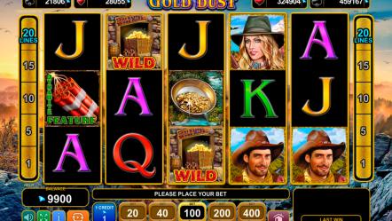 Игровой автомат Gold Dust — играй бесплатно на бонусы