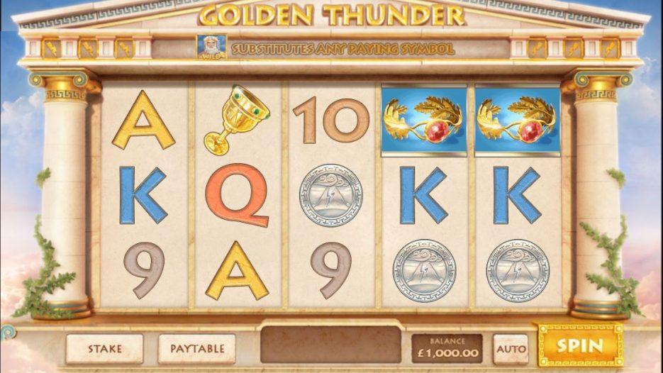 Игровой автомат Golden Thunder — играть без регистрации и без смс