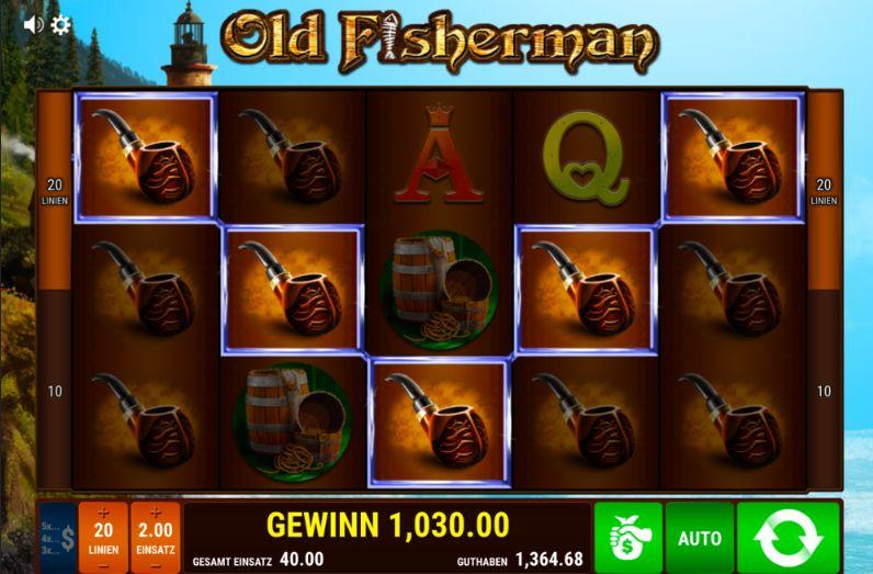 Игровой автомат Old Fisherman — вращай барабаны с бонусом на депозит