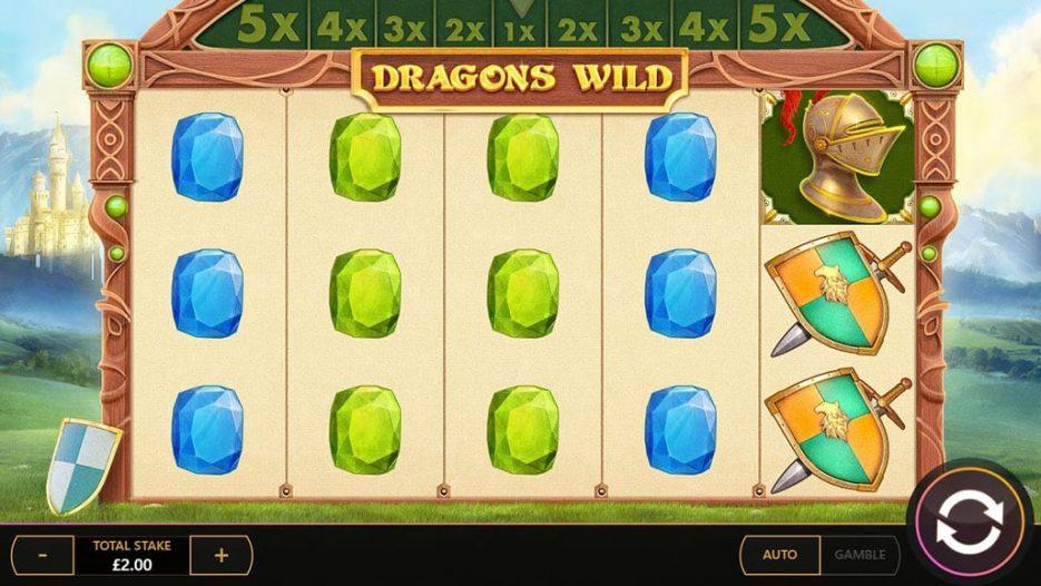 Игровой автомат Dragons Wild — слоты онлайн казино вулкан