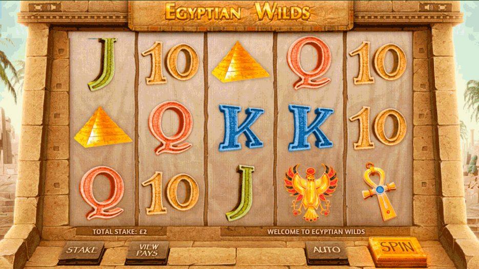 Игровой автомат Egyptian Wilds — играй без отправки смс