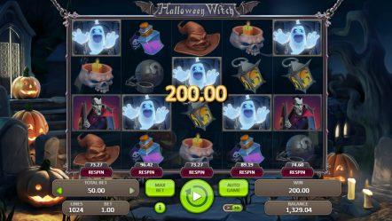 Игровой автомат Halloween Witch — демо версия в интернет казино