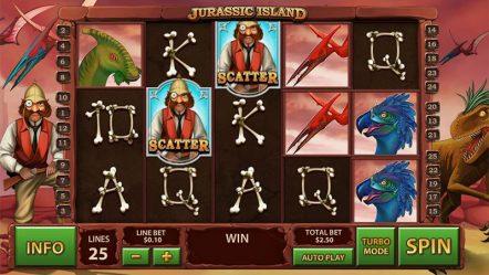 Игровой автомат Jurassic Island — слоты вулкан бесплатно и без смс
