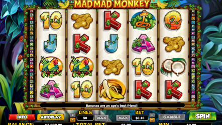 Видео слот Mad Monkey — играть бесплатно сейчас в игровые автоматы онлайн