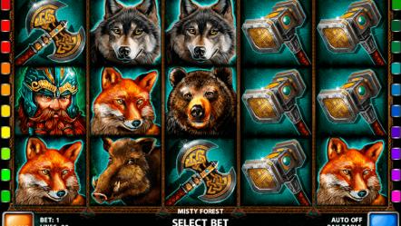 Игровой автомат Misty Forest — азартные слоты казино вулкан