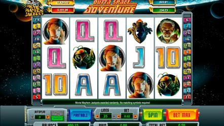 Видео слот Outta Space Adventure — играть бесплатно прямо сейчас в игровые автоматы
