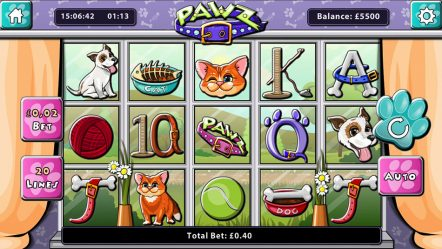 Игровой аппарат Pawz — бесплатные слоты 777