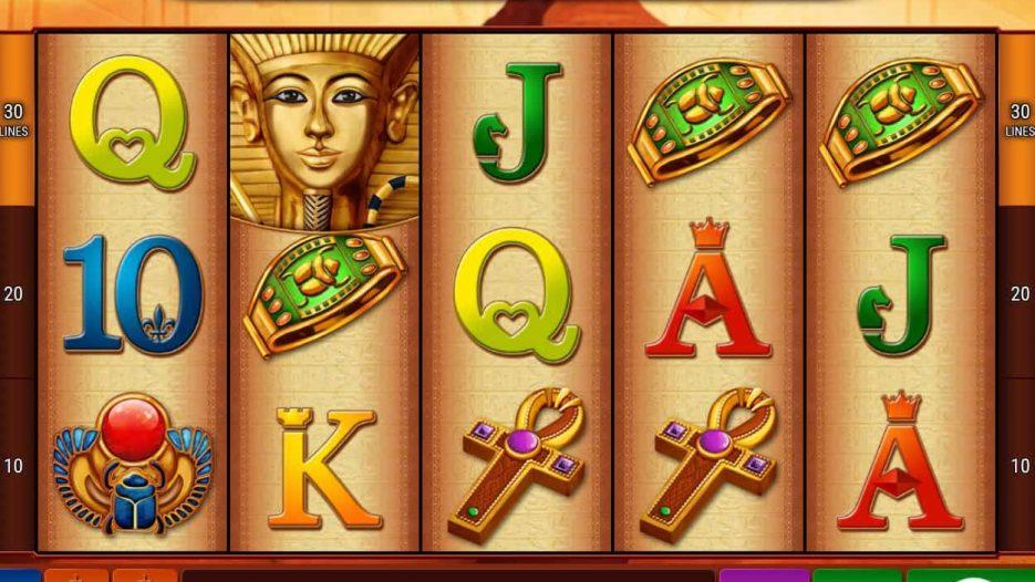 Игровой автомат Pharaos Riches — видео аппараты без регистрации