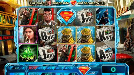 Видео слот Superman: Last Son Of Krypton — игровые аппараты на деньги без регистрации