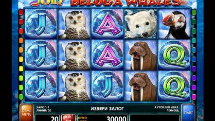 Игровой автомат Jolly Beluga Whales — игровые слоты на реальные деньги