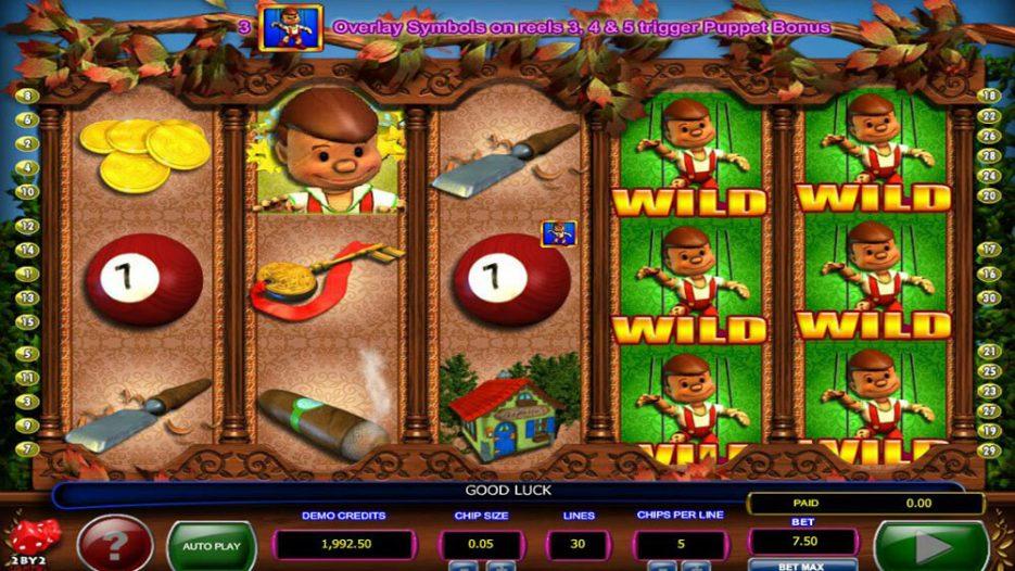 Игровой автомат Pinocchios Fortune — бесплатно в онлайн казино вулкан