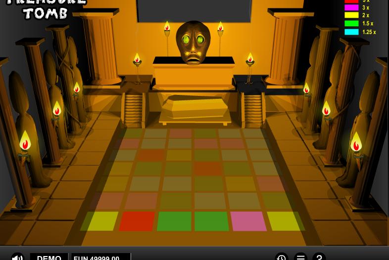 Игровой автомат Treasure Tomb — игровые автоматы 777