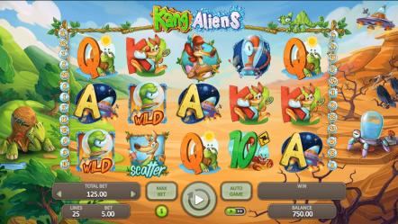 Игровой автомат Kangaliens — казино игровые автоматы на деньги