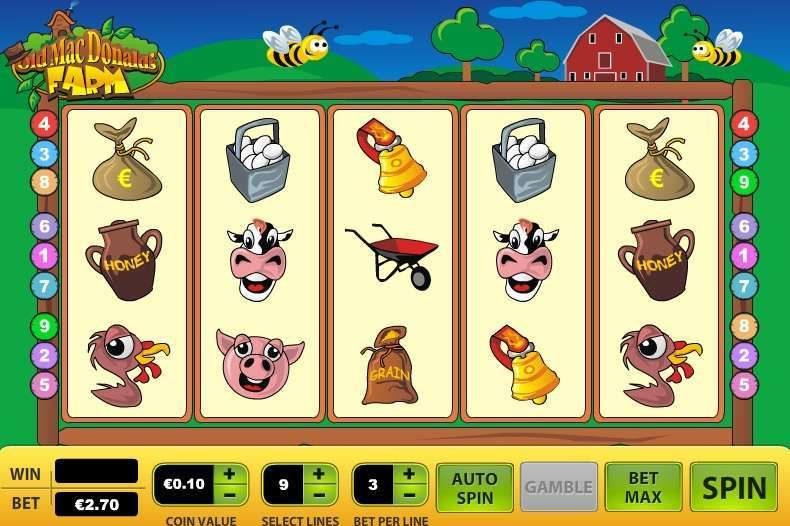 Игровой автомат Old MacDonalds Farm — бесплатные игровые автоматы казино