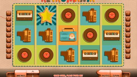 Игровой автомат Retromania — игровые автоматы играть на гривны