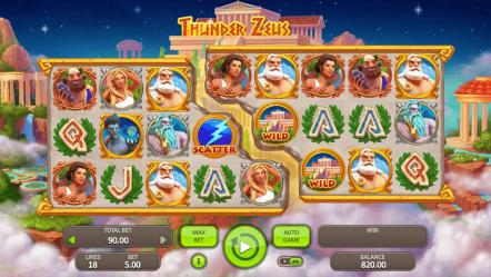 Игровой автомат Thunder Zeus — игровые автоматы играть бесплатно