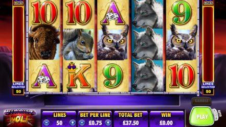 Видео слот Winning Wolf — играть в азартные игровые автоматы