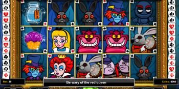 Игровой автомат Alice and the Red Queen в онлайн-казино