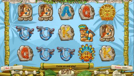 Игровой автомат Aztec Secrets в онлайн-казино