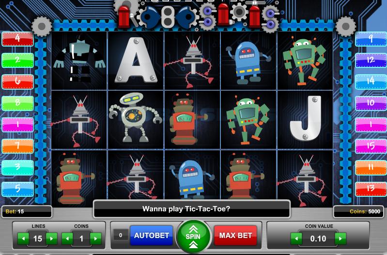 Видео слот Roboslots-играть в новые игровые автоматы