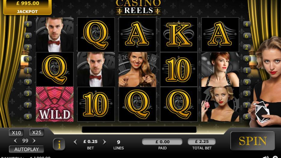 Видео слот Casino Reels-азартные игровые автоматы без регистрации