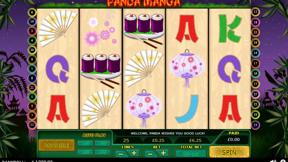Видео слот Panda Manga-игровые аппараты играть онлайн бесплатно без регистрации