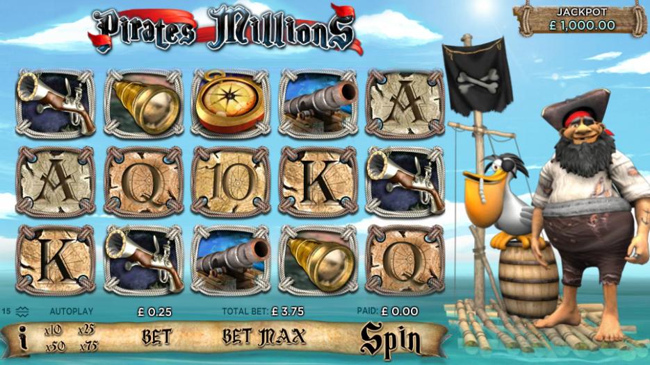 Видео слот Pirates Millions — играть бесплатно и без регистрации в игровые аппараты 777