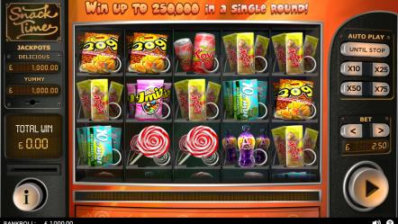 Видео слот Snack Time-игровые автоматы онлайн с бонусами
