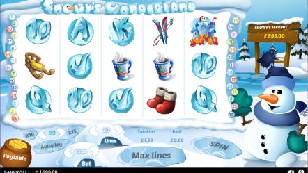 Видео слот Snowys Wonderland-бесплатные игровые автоматы казино онлайн